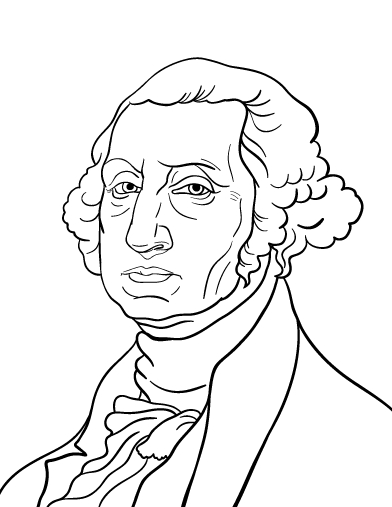 23 George Washington Coloring Page Collections | FREE COLORING PAGES ...