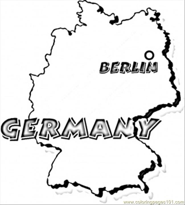 germany coloring pages - germany