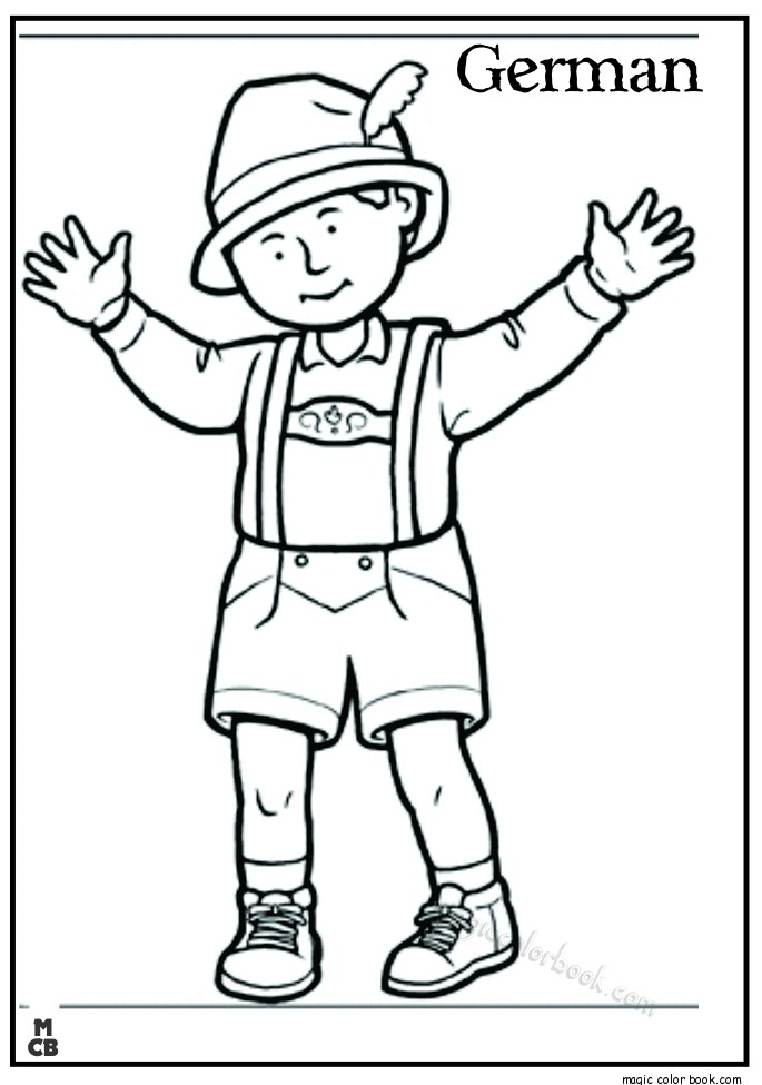 germany coloring pages - german coloring pages free online