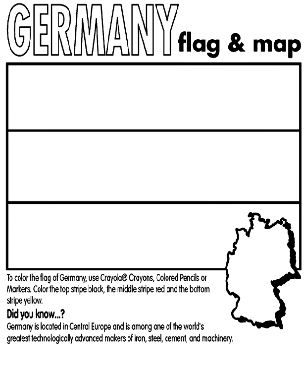 germany coloring pages - germany coloring page