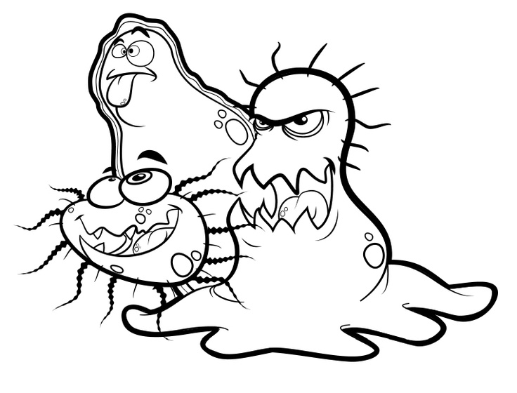germs coloring pages -