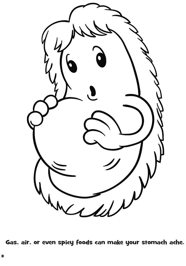 germs coloring pages - germ coloring pages