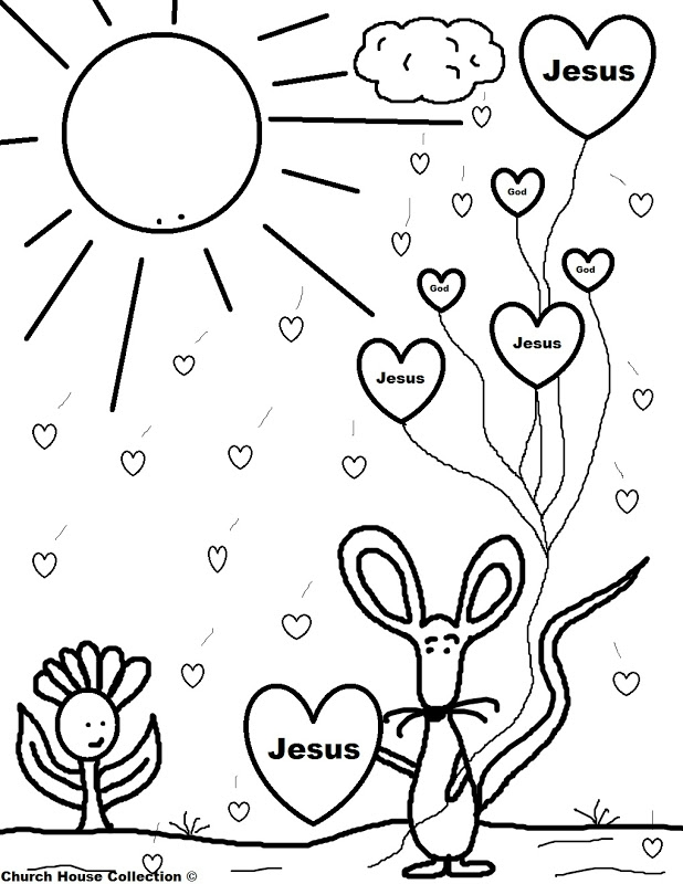 get well soon coloring pages -