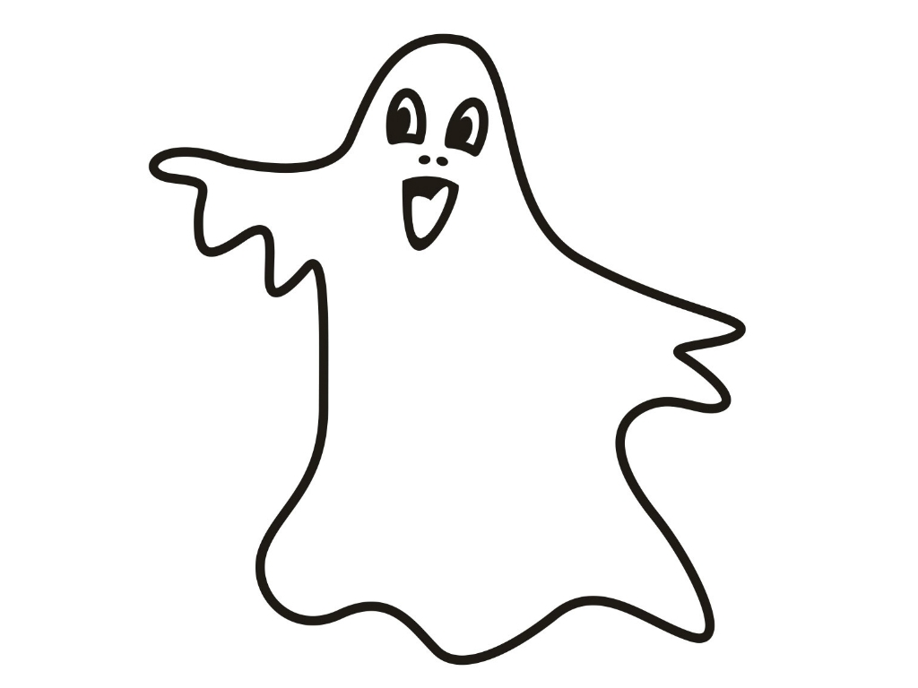 45 Top Cartoon Ghost Coloring Pages Images & Pictures In HD