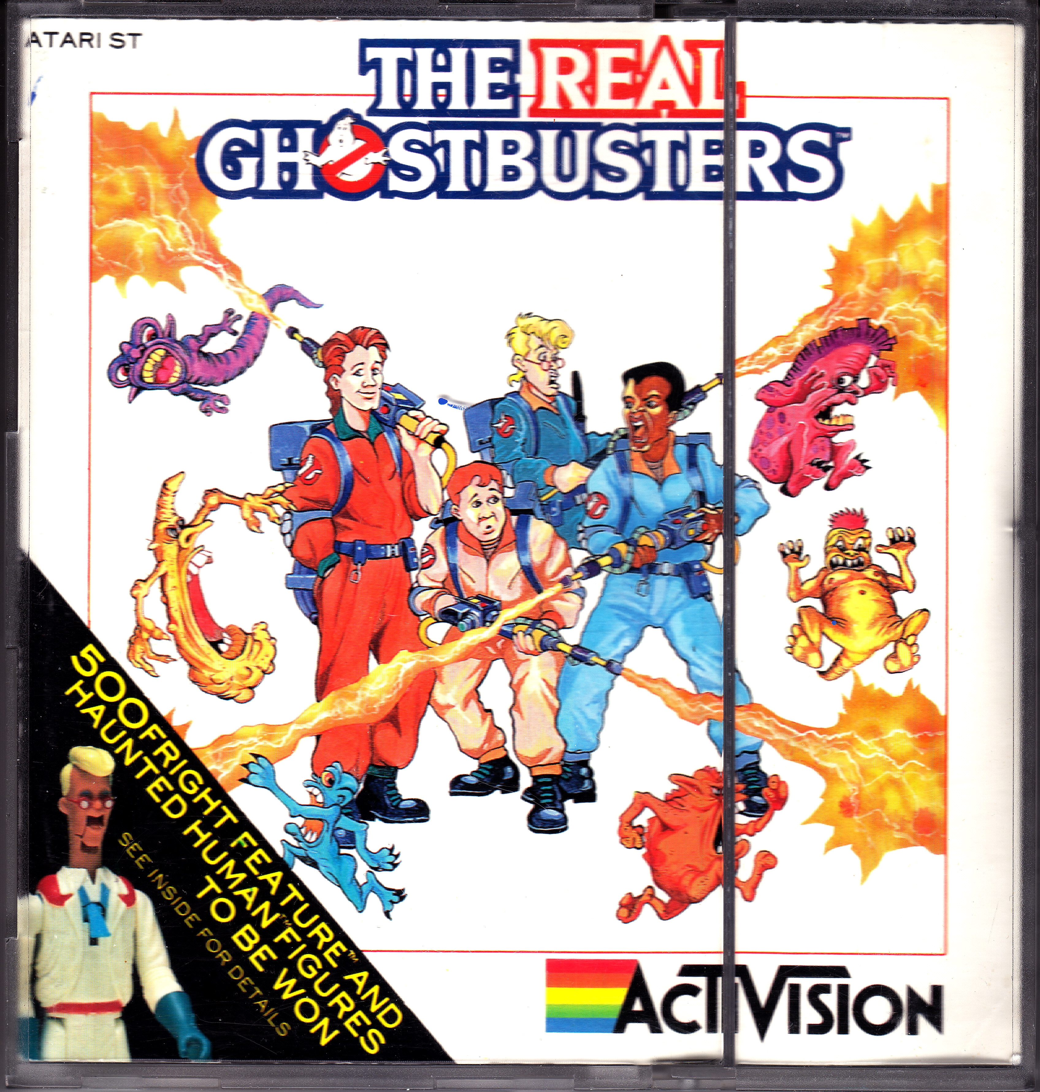 ghostbusters coloring pages - Collection Atari ST