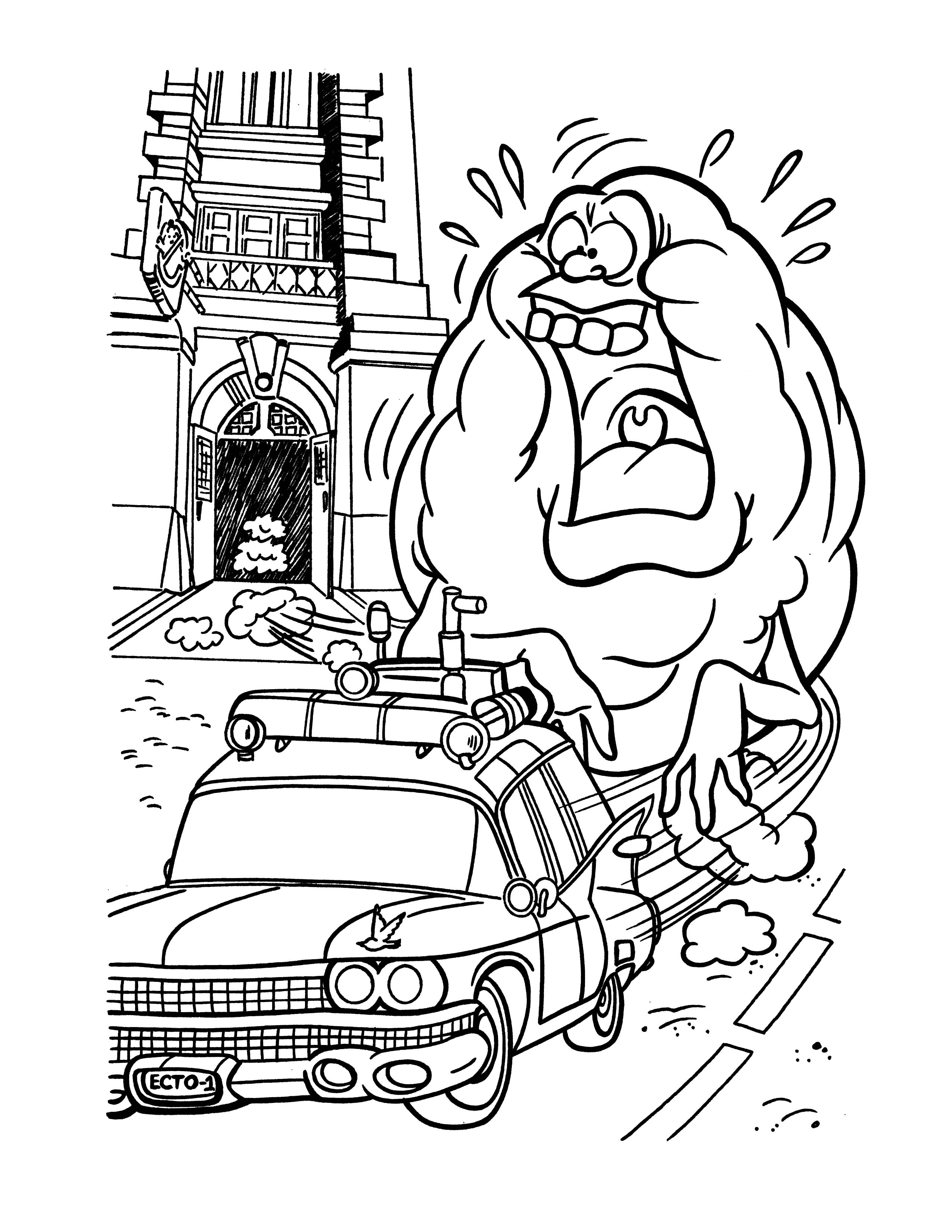 ghostbusters coloring pages - ghostbusters coloring pages