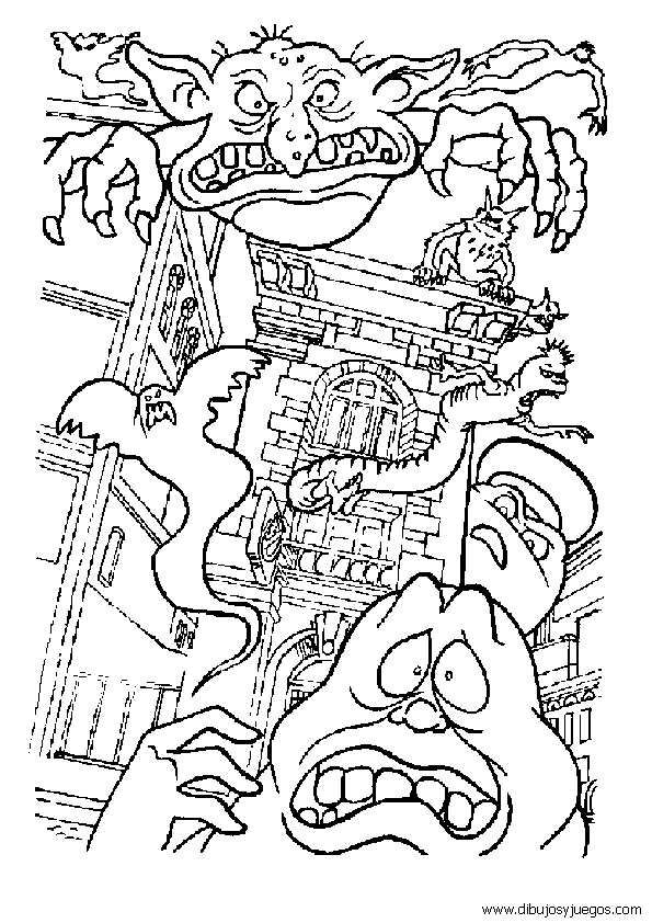 ghostbusters coloring pages - categories
