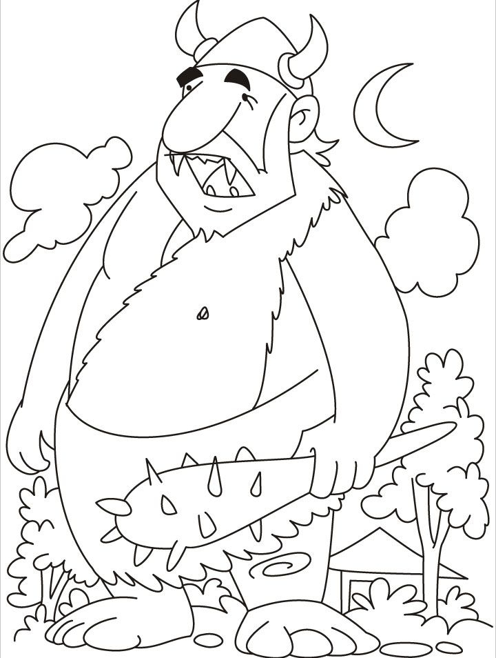 giant coloring pages - giant coloring page