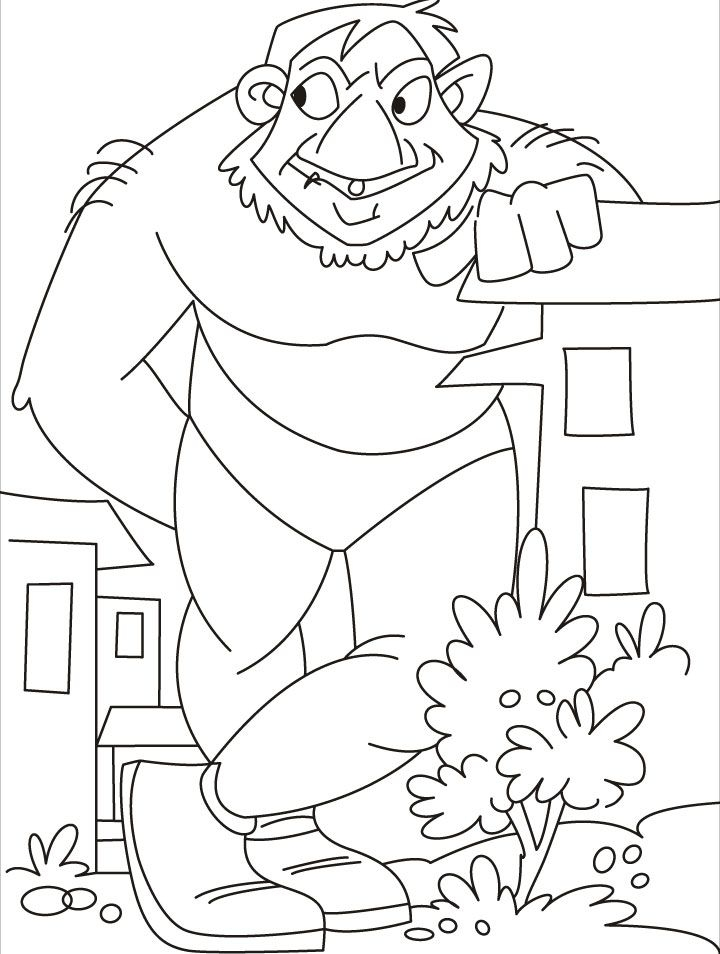 Giant Coloring Pages - Giant Coloring Pages Az Coloring Pages