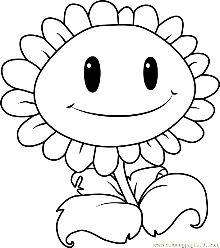 giant coloring pages - giant sunflower coloring page
