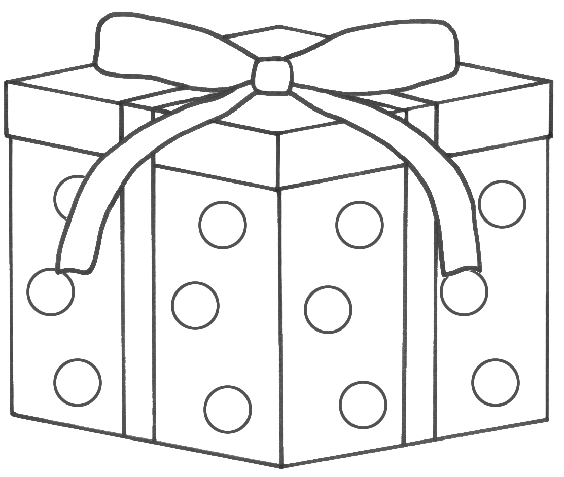 gift coloring page - t coloring pages 11