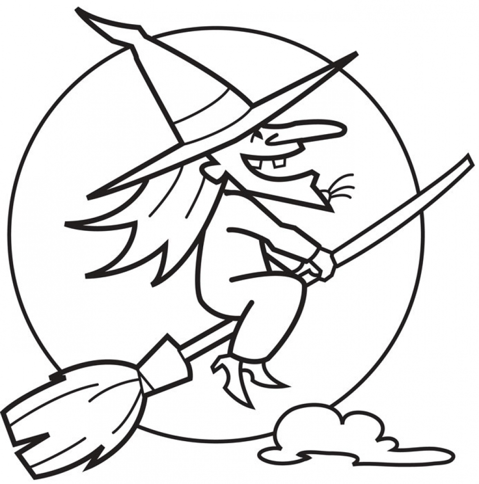 gingerbread coloring pages - witch coloring pages printable for kids xi226