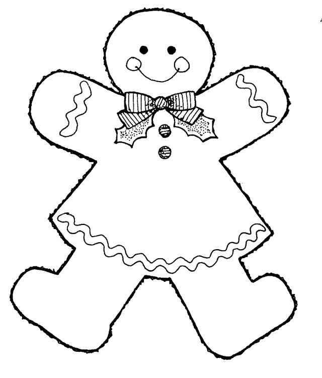 28 Gingerbread Girl Coloring Pages Images | FREE COLORING PAGES - Part 3