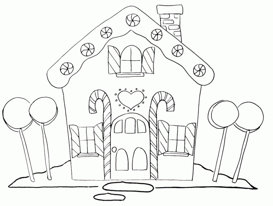 27 Gingerbread House Coloring Pages Selection FREE COLORING PAGES
