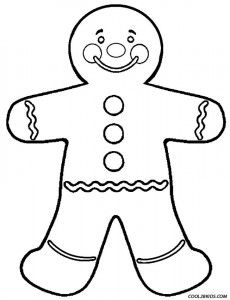 Gingerbread Man Coloring Page - Lebkuchenhäuser Lebkuchen and Malvorlagen On Pinterest