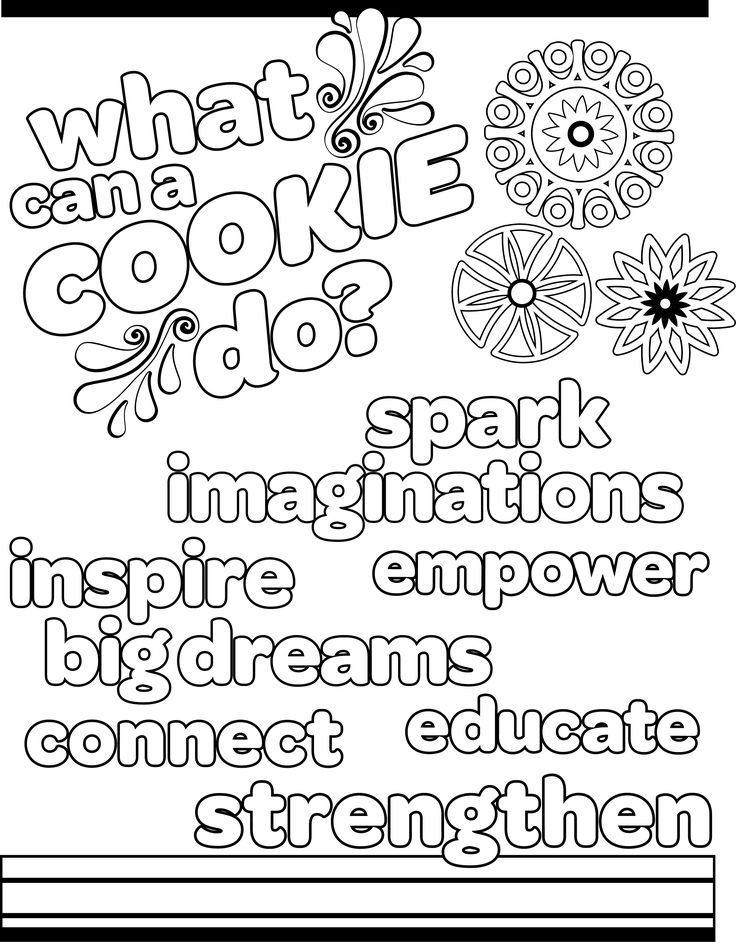 girl scout cookie coloring pages -