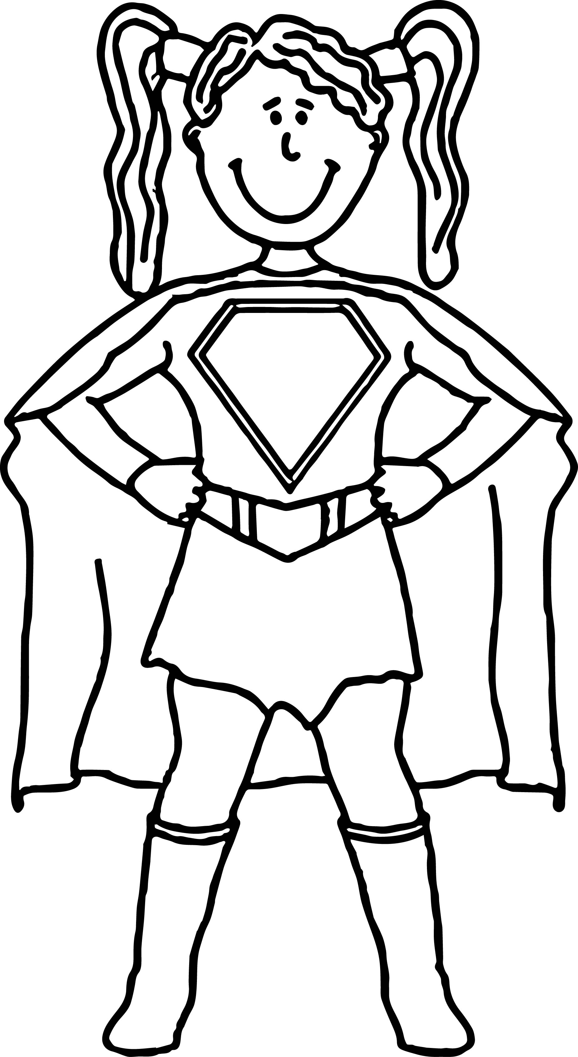 girl superhero coloring pages - black female superhero coloring pages sketch templates