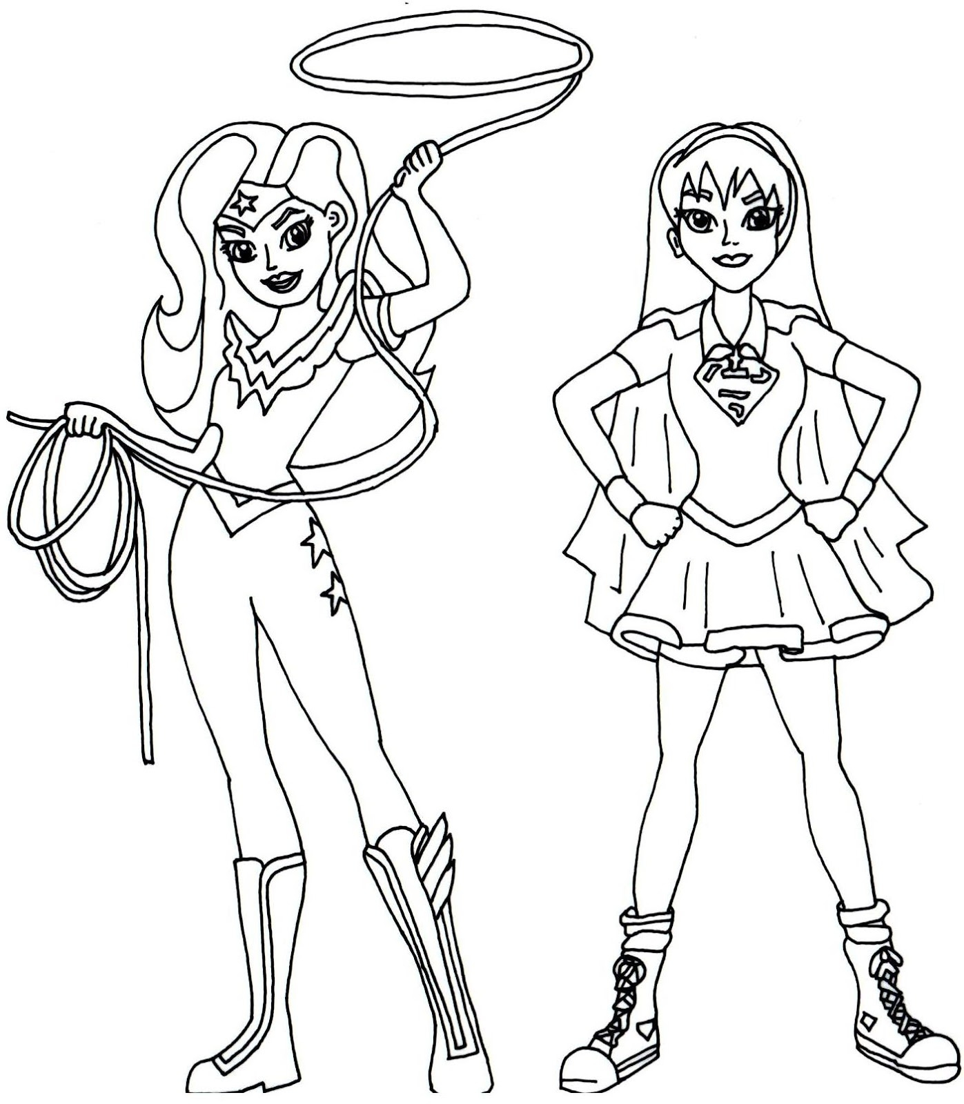 20 Girl Superhero Coloring Pages Printable | FREE COLORING PAGES ...