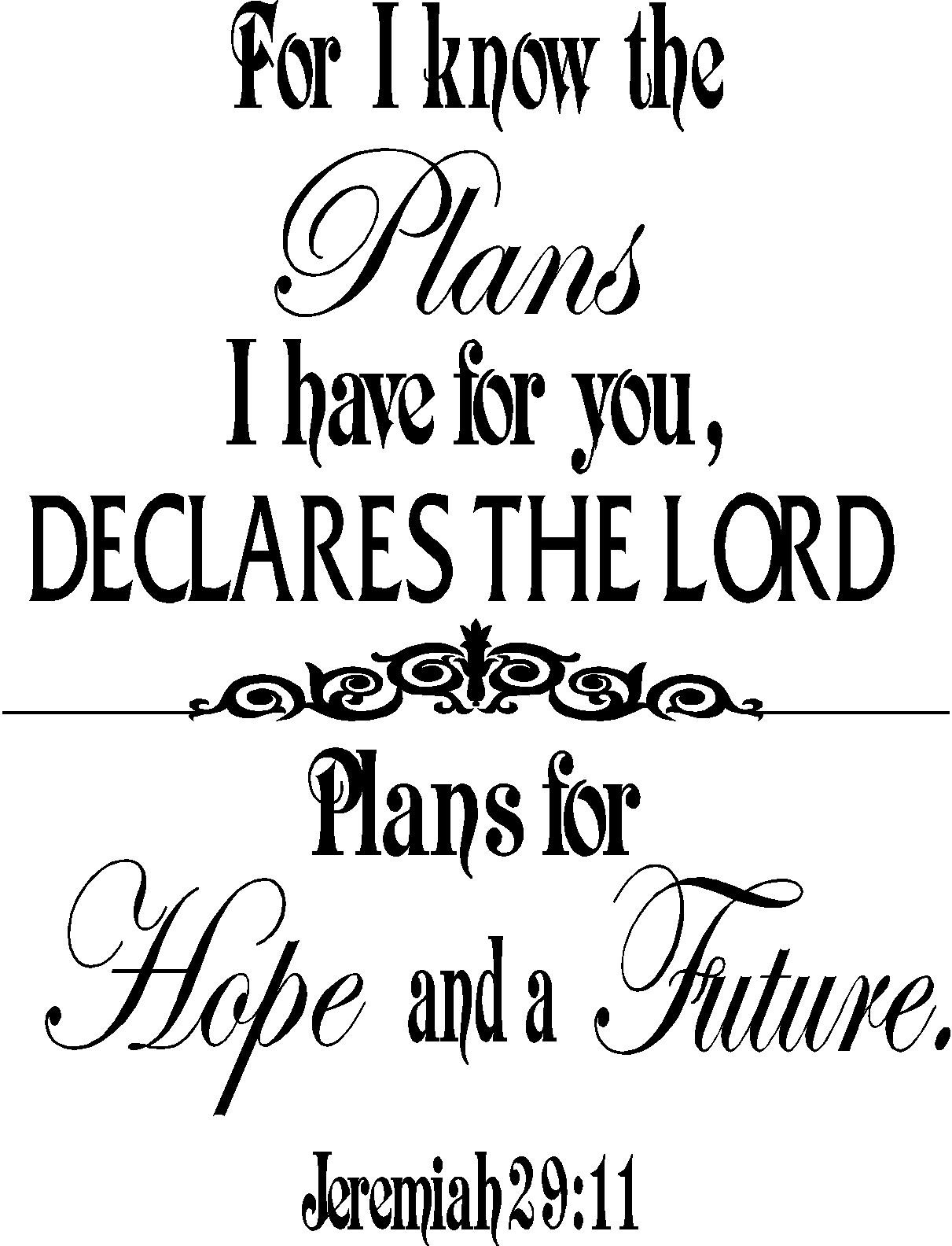 god made me coloring page - jeremiah 29 11 for i know the plans i