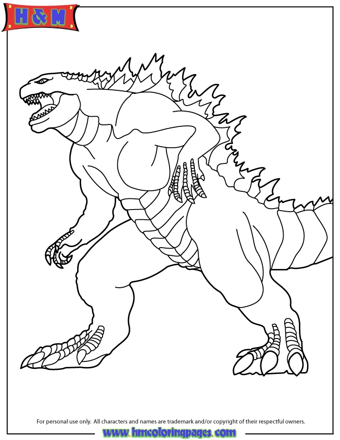 Godzilla Coloring Pages - Godzilla 2014 the Movie Coloring Page