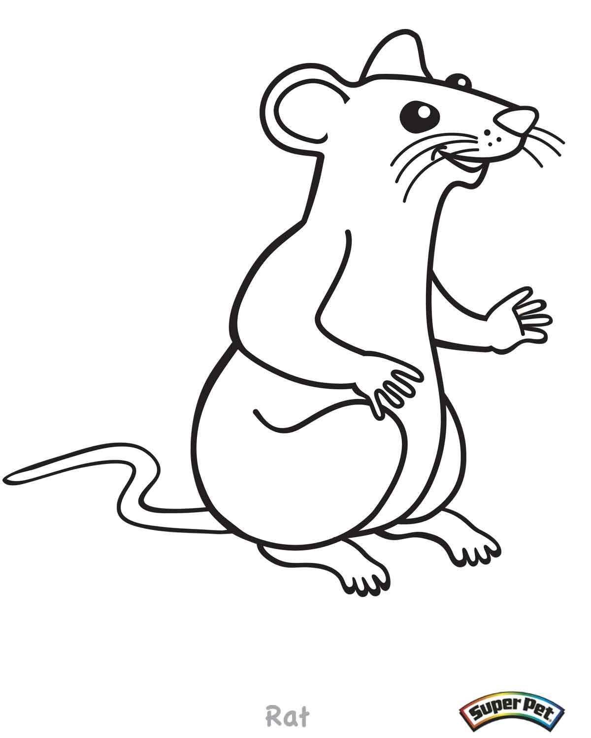 goldfish coloring page - critter coloring pages