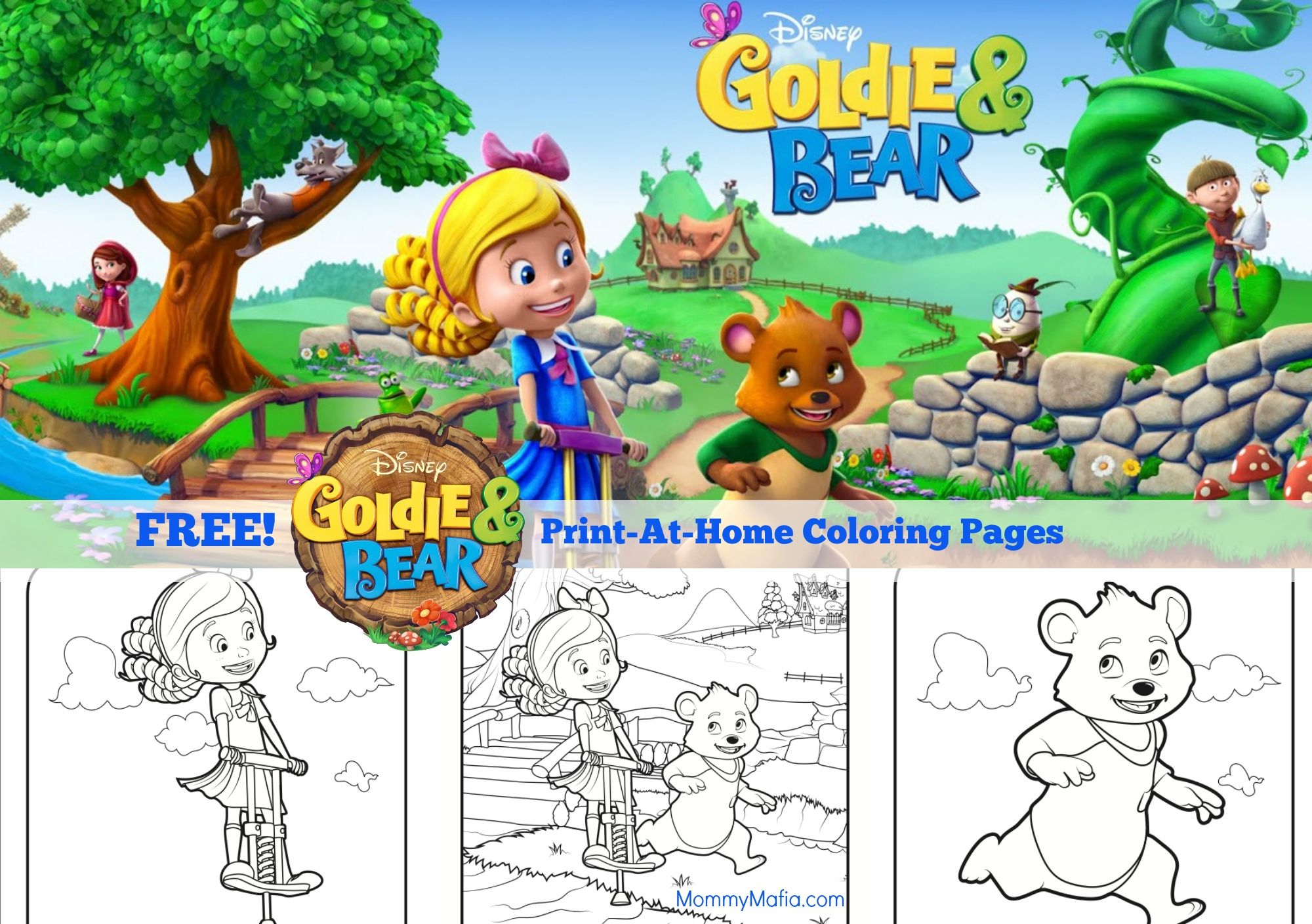 24 Goldie and Bear Coloring Pages Selection | FREE COLORING PAGES ...