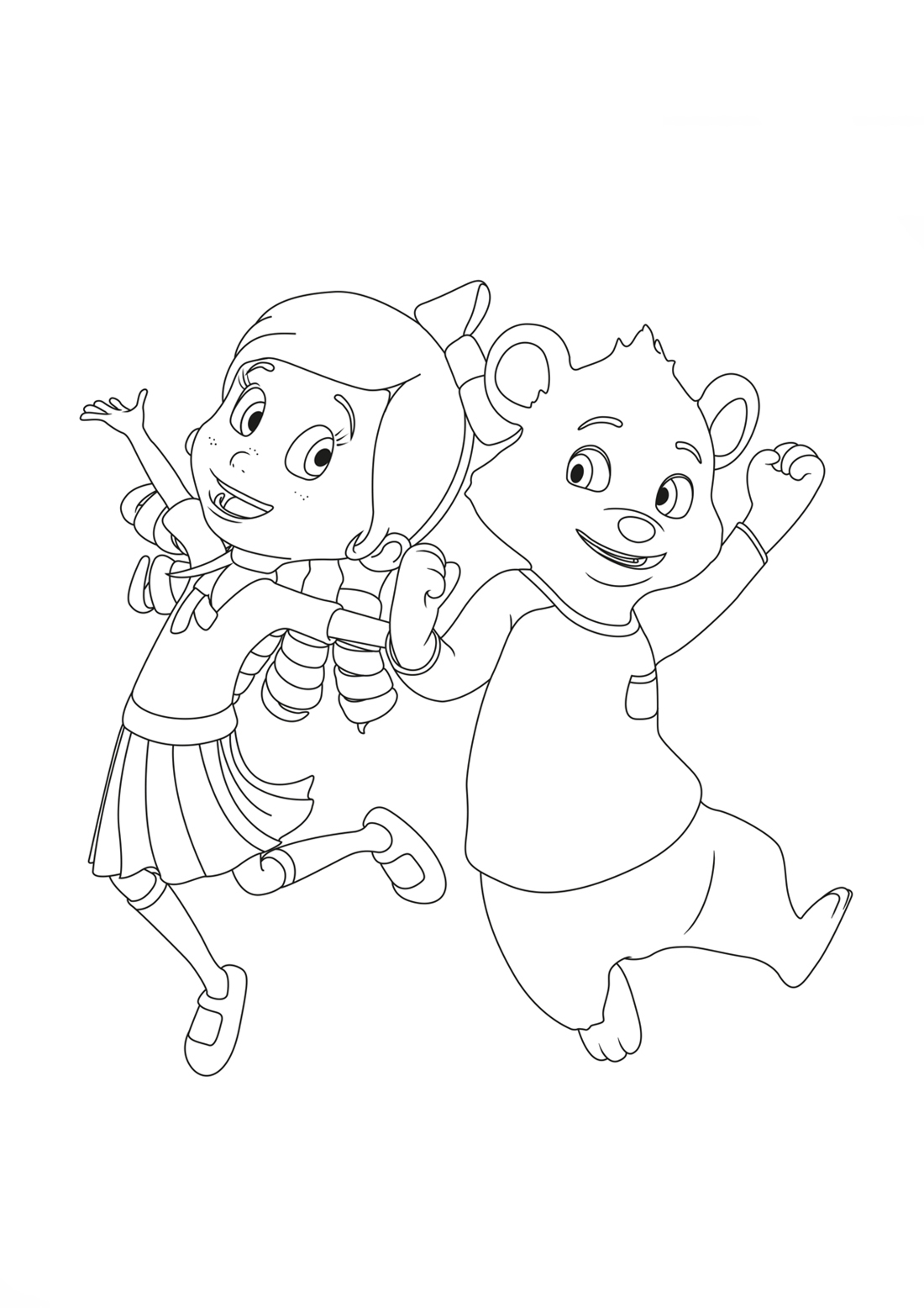 24 Goldie and Bear Coloring Pages Selection FREE COLORING PAGES