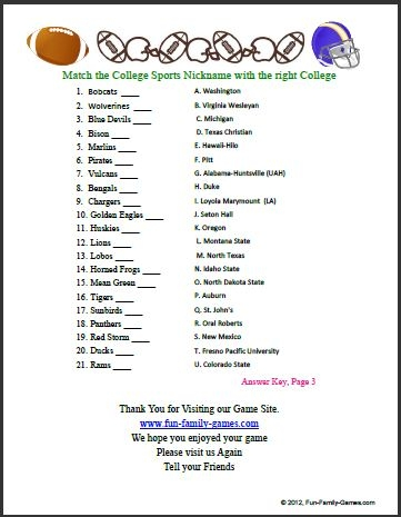 Golf Coloring Pages - College Bowl Trivia Es From Many Years Of Bowl Games