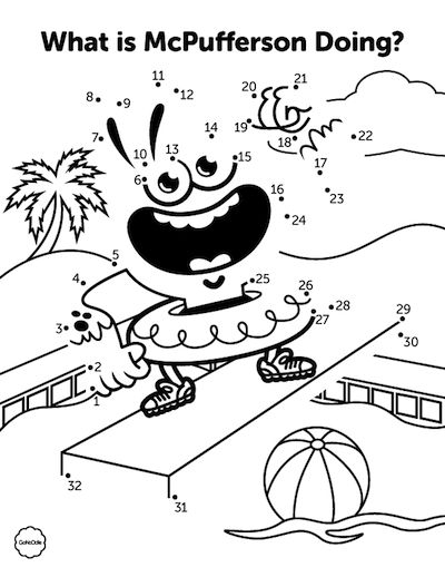 25 Gonoodle Coloring Pages Printable | FREE COLORING PAGES - Part 3
