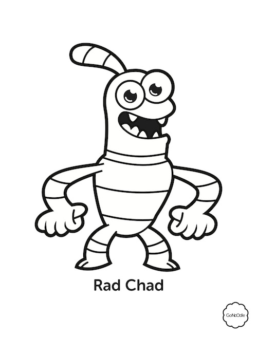 gonoodle coloring pages - champify your classroom champ coloring sheets