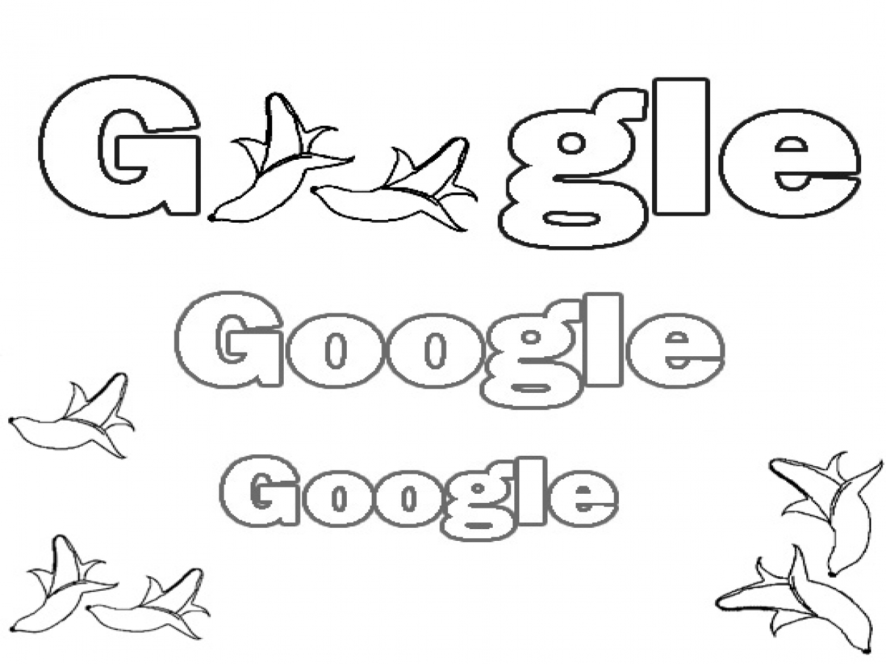 Google Coloring Pages - Download Coloring Pages Google Coloring Pages Google