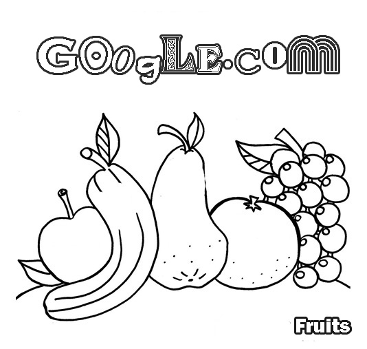 google coloring pages - google