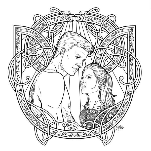 goosebumps coloring pages - buffy coloring book 06
