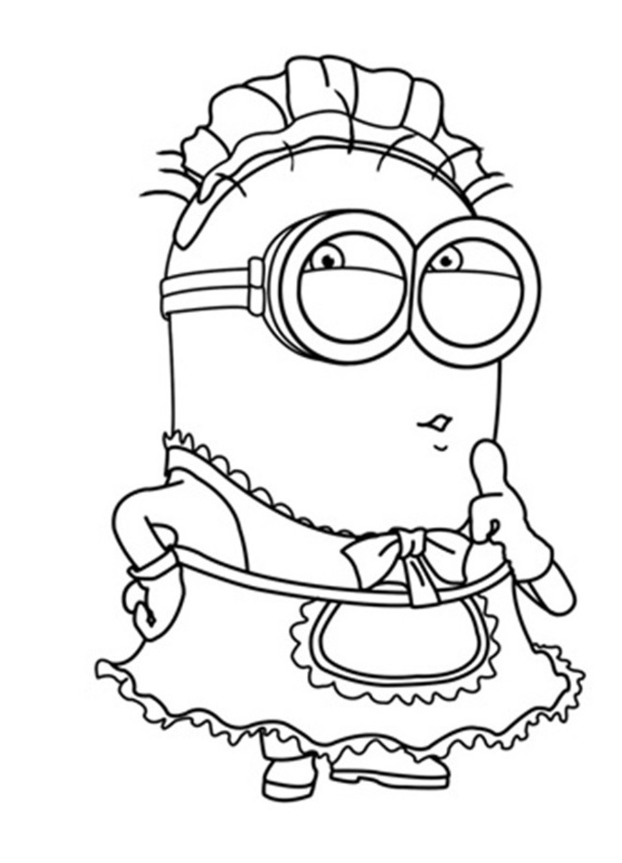 goosebumps coloring pages - minions coloring pages