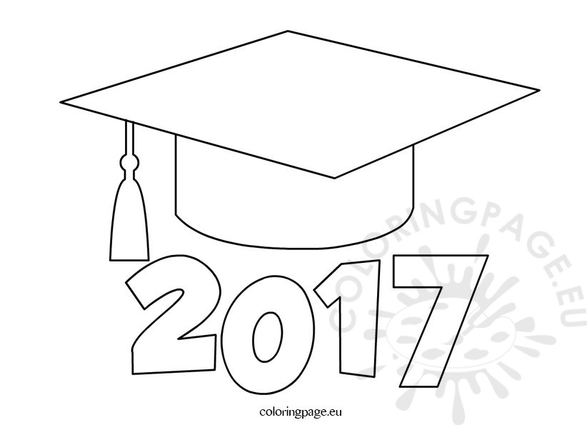 graduation cap coloring page - coloring pages graduation cap page s