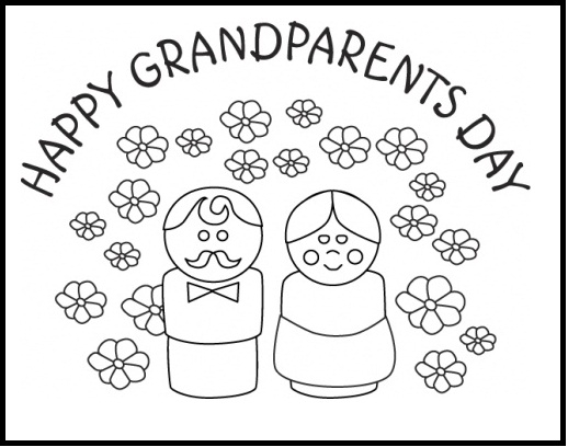grandparents coloring pages - 3