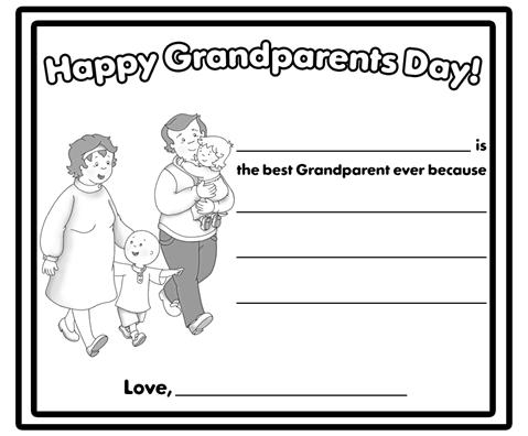 Grandparents Day Coloring Pages - Grandparents Day Printable Coloring Pages Let S Celebrate