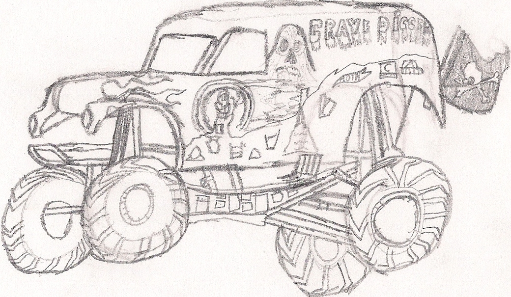 grave digger coloring pages - q=diggers