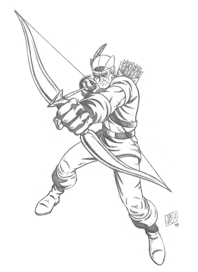 25 Green Arrow Coloring Pages Pictures Free Coloring Pages