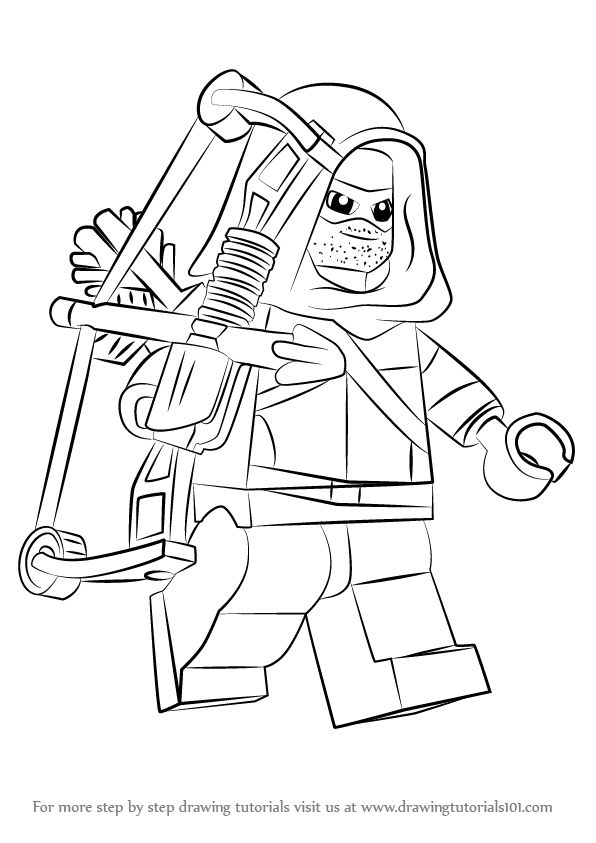 25 Green Arrow Coloring Pages Pictures | FREE COLORING PAGES - Part 3
