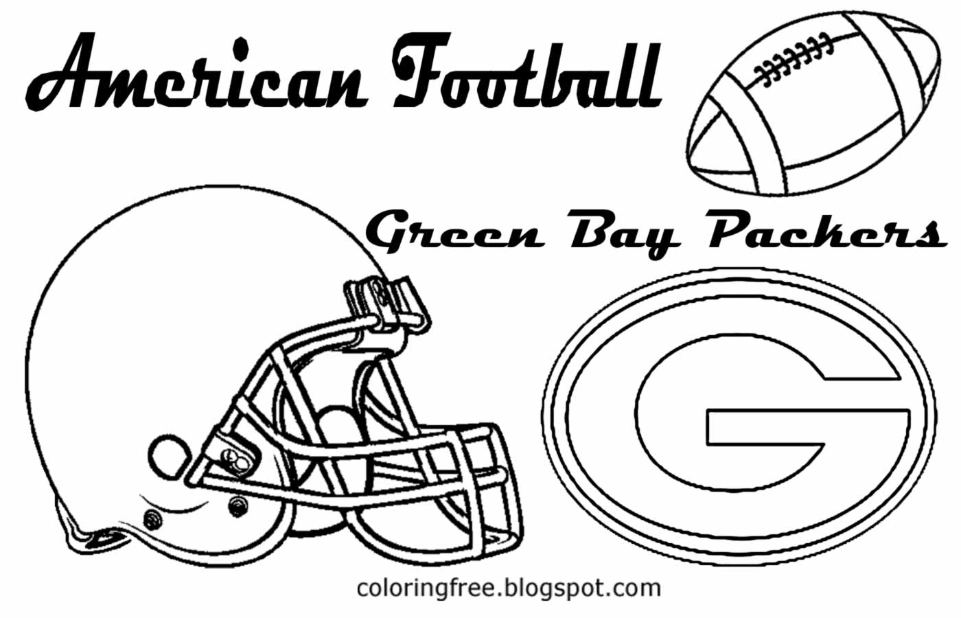 Charmant Green Bay Packer Coloring Pages Fotos - Druckbare ...