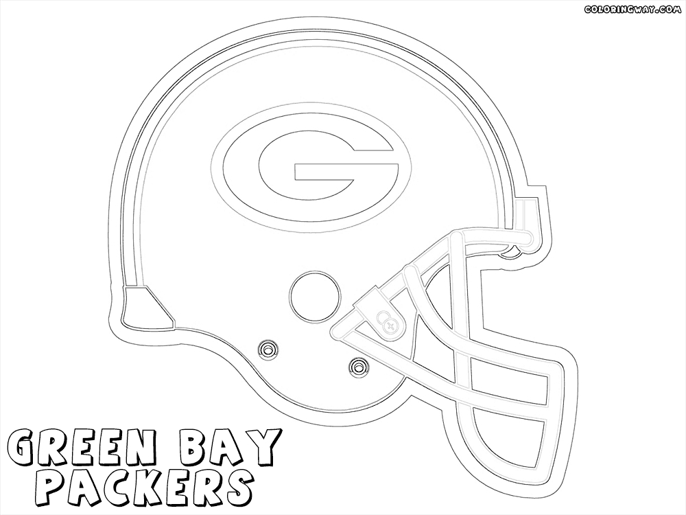 20 Green Bay Packers Coloring Pages Pictures Free