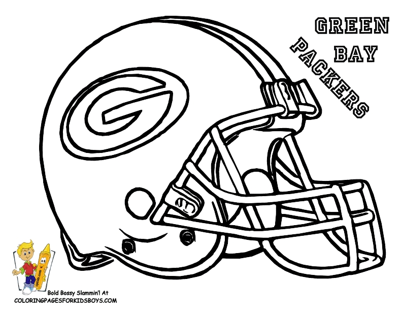 green bay packers coloring pages - green bay packers coloring pages