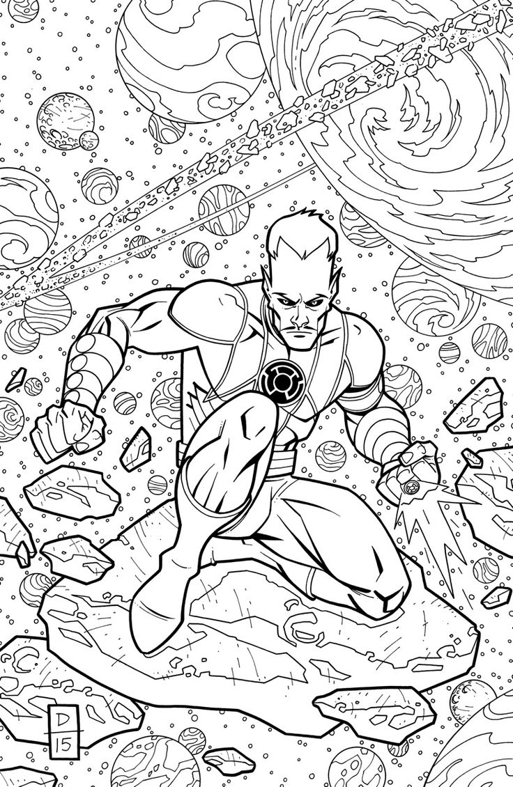 green lantern coloring pages - yellow vs green lantern coloring pages lantern sketch templates