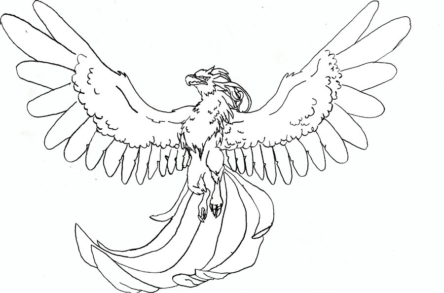 Griffin Coloring Pages - Realistic Griffin Coloring Pages Coloring Pages