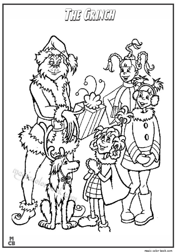 Grinch Coloring Pages Printable - the Grinch Coloring Pages Family