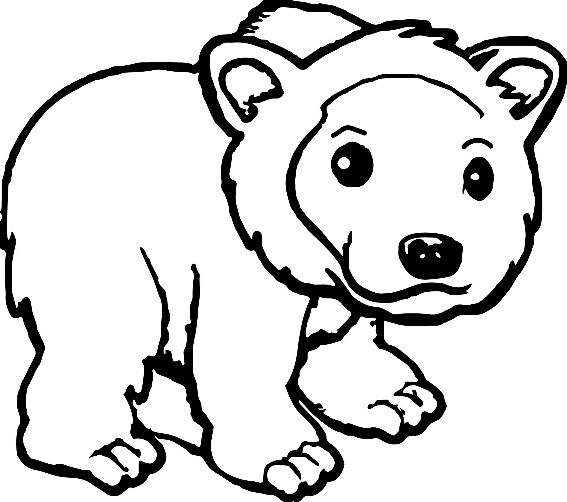 28 Grizzly Bear Coloring Page Pictures