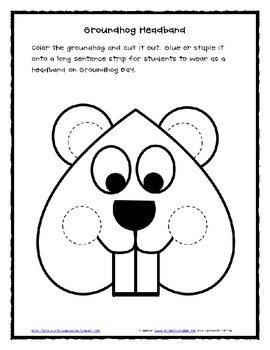 groundhog day coloring pages free printable - p=171