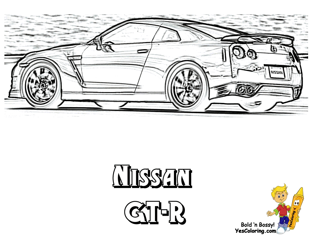 gtr coloring pages - q=skyline r35 gt r