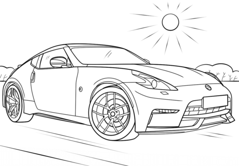 20 Gtr Coloring Pages Selection - FREE COLORING PAGES
